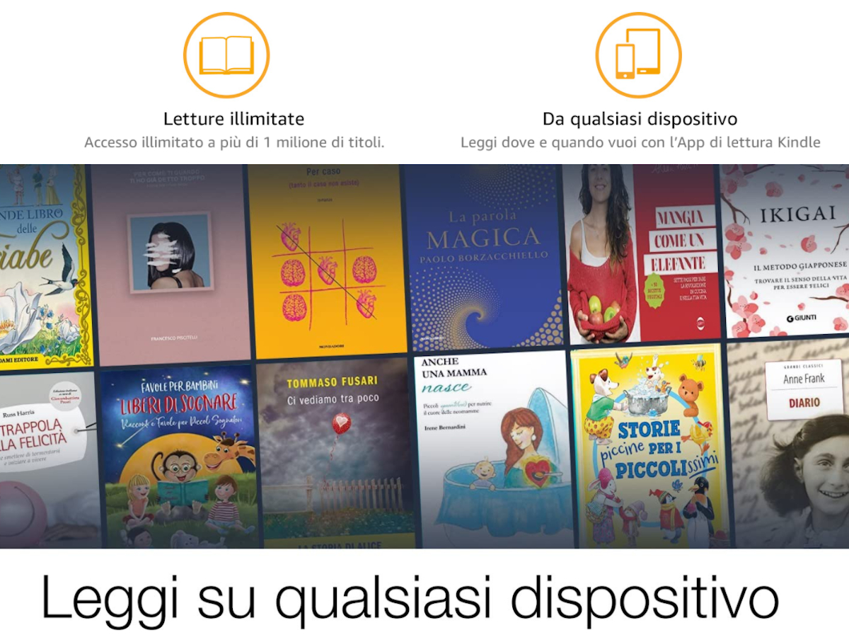Antonino Fleres promuove Amazon Kindle Unlimited