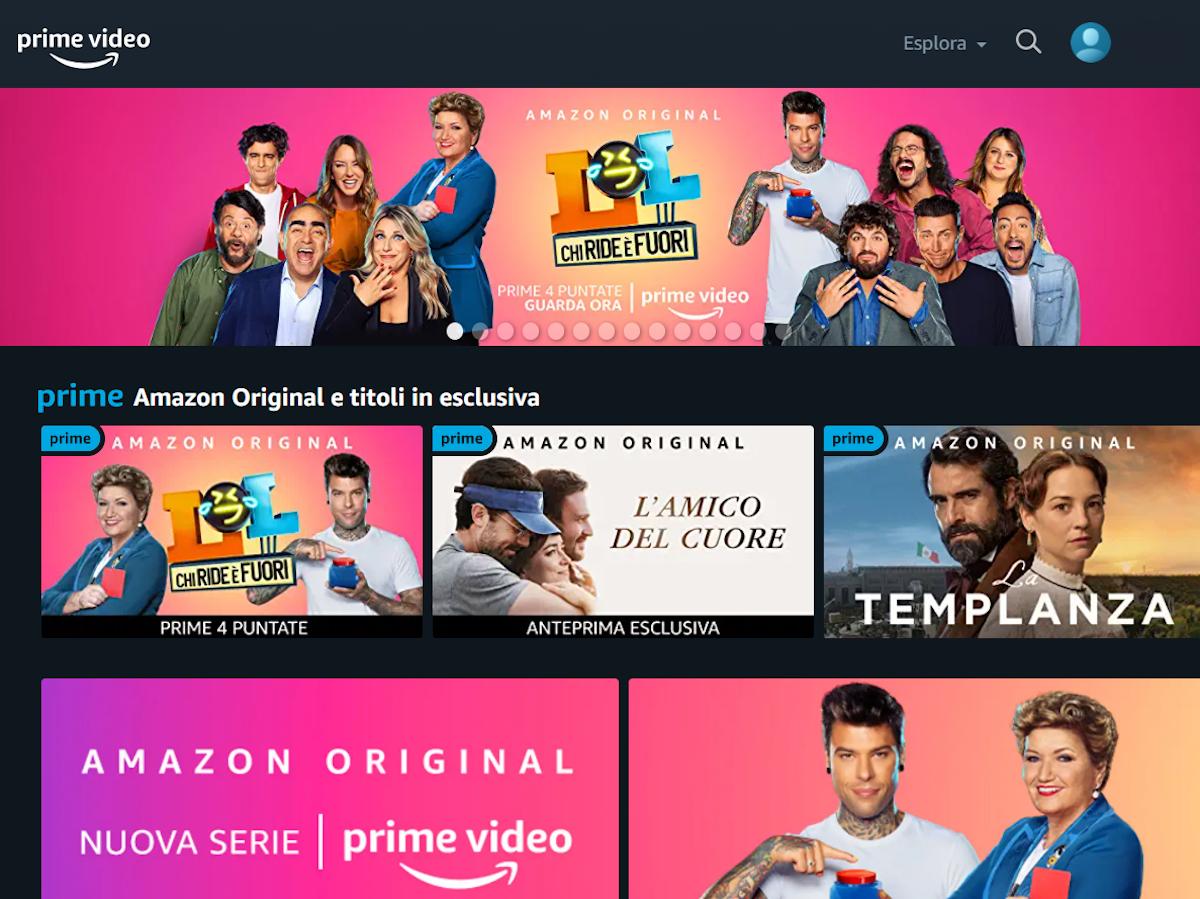 Antonino Fleres promuove Amazon Prime Video